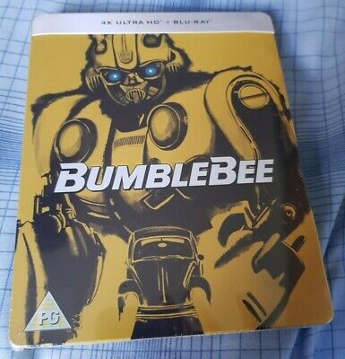 Bumblebee - Limited Edition 4K UHD & Blu-ray Embossed Steelbook NEW AND SEALED!