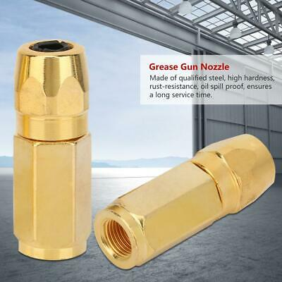 10x M6 M8 Grease Gun Accessories Replacement Grease Tip Nozzle Fitting Nipple  S