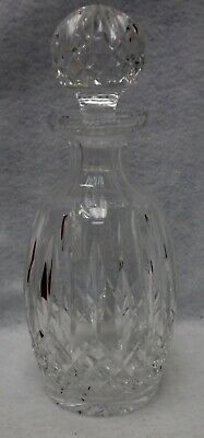 WATERFORD crystal LISMORE pattern Spirit or Wine Decanter & Stopper - 10-3/4""