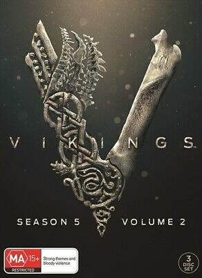 Vikings :Season 5 :Part 2 (S/Special Cover) (DVD, 2019) (Region 4) New Release