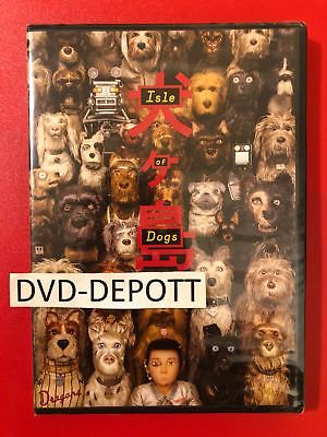 Isle of Dogs (DVD, 2018)  BRAND NEW FAST Free Shipping