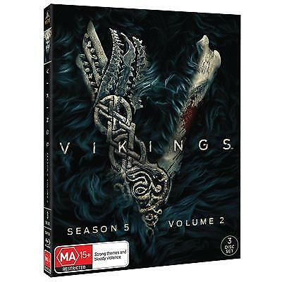 Vikings :Season 5 :Part 2 (J/Special Cover) (Bluray, 2019) (Region B)New Release