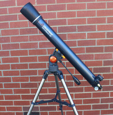 Celestron AstroMaster 90AZ Telescope Astronomical Refractor Entry Level 21063