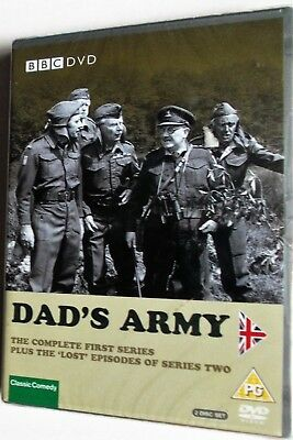 Dad's Army (BBC) First Series Plus The 'Lost' Episodes Of SerIes Two  (DVD) NEW