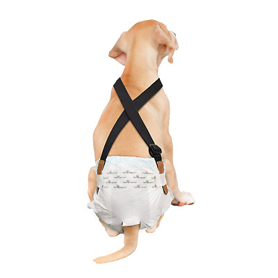 Paw Inspired Washable and Disposable Dog Diaper Suspenders