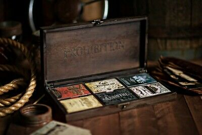 1 set 6 decks Prohibition Limited Edition Playing Cards Box-S10322402452