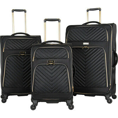 Kenneth Cole Reaction Chelsea 3 Piece Expandable Luggage Set NEW