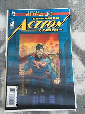 Superman Action Comics: Futures End / #1 (Lenticular Cover)