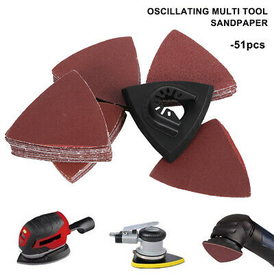 51x Mouse Sanding Sheets and Decker Detail Mouse Palm Sander Sandpaper