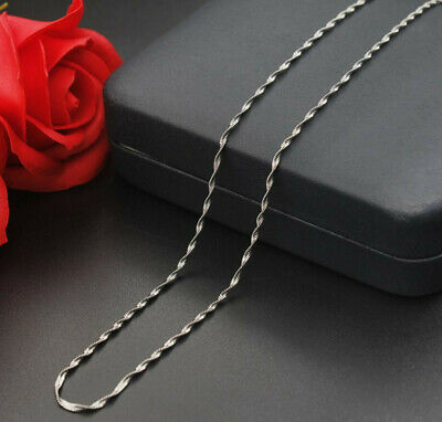 316L Stainless Steel Twisted Snake Chain Necklace For Women Fashion Accessories