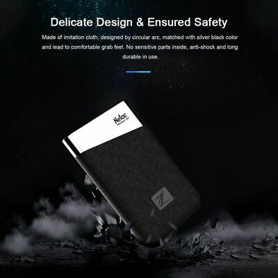 Netac 240GB 480GB 960GB Protable SSD Z6 External Type-C Solid State Drive