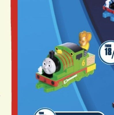 Thomas And Friends Mcdonalds Happy Meal Toy PERCY Brand New Unopened. 2019