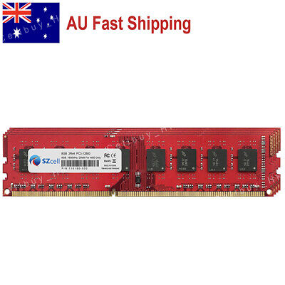AU 32GB 4x8GB DDR3-1600MHz PC3-12800 240pin UDIMM For AMD Chipset Desktop Memory