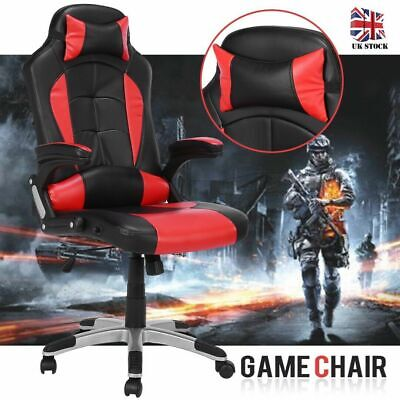 High Back Luxury Racing Gaming Swivel Chair Office Executive Computer Desk Chair