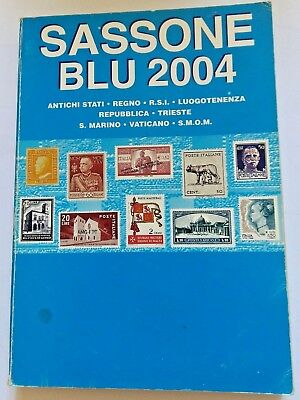Catalogo Francobolli Sassone Blu 2004 Area Italiana  Come Nuovo