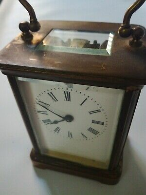 Antique carriage clock Spares Or Repairs Only