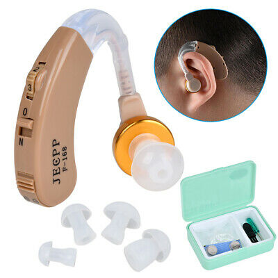 Jecpp F-168 Mini Ear Hearing Aid Adjustable Sound Amplifier Kit For The Elderly