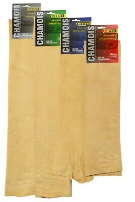 Martin Cox Genuine Leather Chamois Towel AP600 Great for Drying & Car Detailing