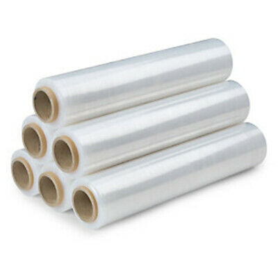 Strong 36 Rolls Pallet Stretch Shrink CLEAR Wrap Cast Fast Delivery