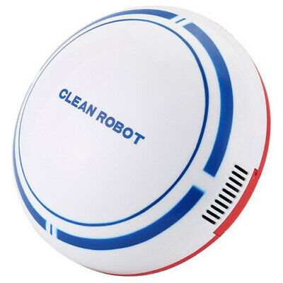 Cartoon Lazy Small Robotic Vacuum Cleaner Sweeping Cleaning Robot USB Charging
