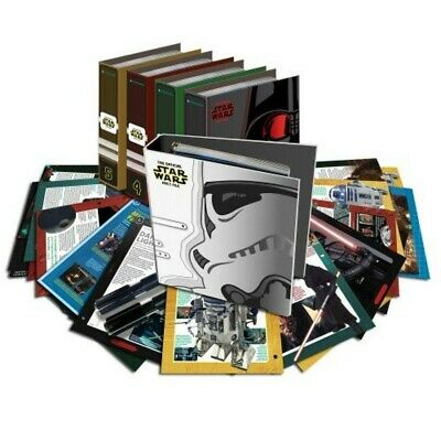 Star Wars Fact File Collection - Good Condition. Will not split.