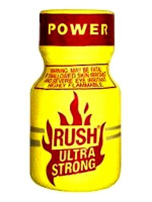 RUSH ULTRA STRONG POPPER originale x HARD rave party gold poppers
