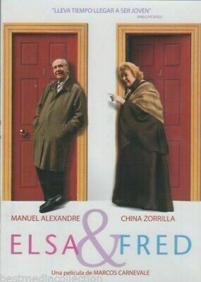 Elsa & Fred (Mexican Edition DVD) Region 1&4 - BRAND NEW SEALED