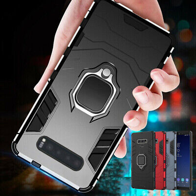 Shockproof Armor Ring Holder Case Cover For Samsung Galaxy S8 S9 S10 Plus S10e
