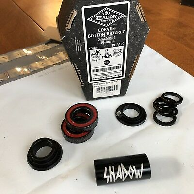 TSC The Shadow Conspiracy BMX Corvus Spanish Bottom Bracket Purple 22mm