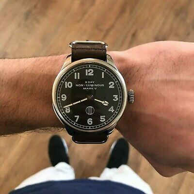 Swiss Watch vintage military wristwatch mens mechanical old marriage watch gift