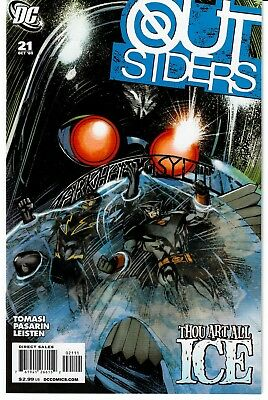 The Outsiders #21 (Oct 2009, DC) NM-