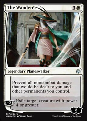 *MtG: 4x The Wanderer - War of the Spark Uncommon - magicman-europe*