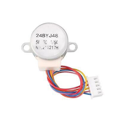24BYJ48 DC 5V Reduction Stepper Motor 4-Phase 5-Wire 1/64 Reduction Ratio