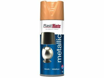 PlastiKote - Spray metálico cobre plano 400ml