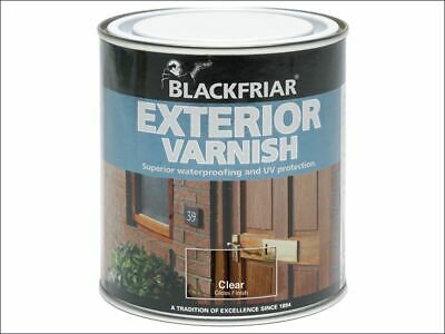 Blackfriar - Barniz Exterior UV77 Transparente Satinado 500ml