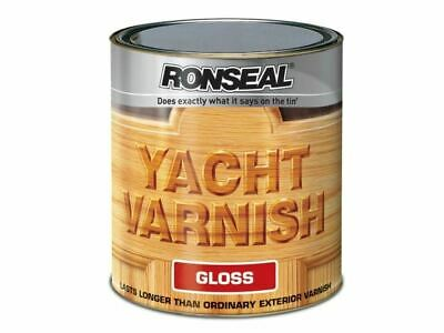 Ronseal - Exterior Yacht Varnish Gloss 500ml