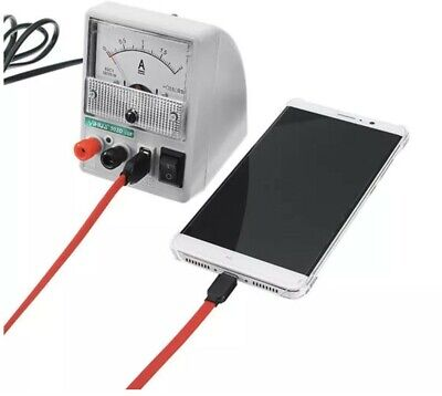 Portable Mini DC Power Bench Supply For Mobile Phone Repair