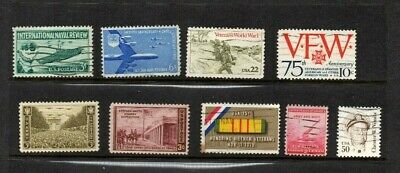 US Stamps Military Theme  Nice selection of 9 Pictorials. FREE bonus 6 extra