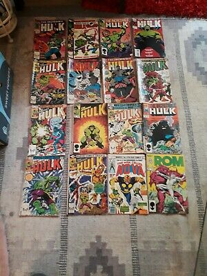 marvel comics job lot 1980s,These are 1980s Marvel