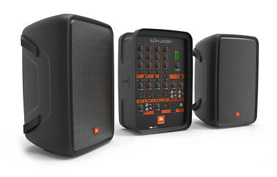 """JBL EON208P All-In-One Portable 8"""" PA System with 8-Channel Mixer and Bluetooth"""