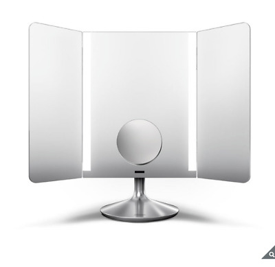 simplehuman ST3014 Wide View Illuminating Sensor Mirror *RRP £299*