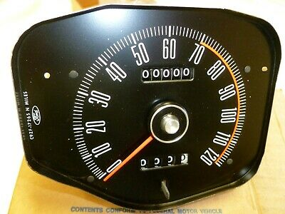 1969 1970 Ford Mustang Speedometer with trip NOS Speedo