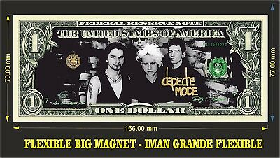 Depeche Mode IMAN BILLETE 1 DOLLAR BILL MAGNET