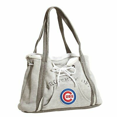 Chicago Cubs MLB Baseball Team Ladies Embroidered Hoodie Purse Handbag
