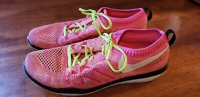 a275e662025f0 Nike Free TR Focus FK OC Womens Running Shoes 843987 999 Pink-Multi Color sz