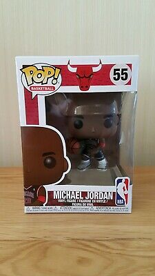 Funko POP! NBA Michael Jordan Black Alternate Jersey Exclusive Chicago Bulls #55