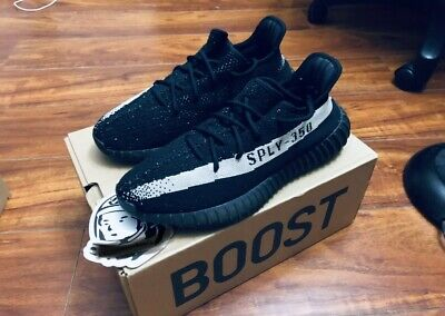 f93a7fee675a7 ADIDAS MEN S YEEZY Boost 350 V2 Oreo Shoes
