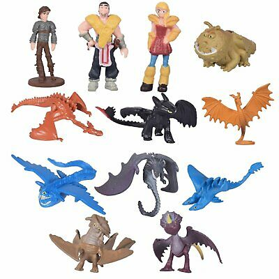 HOW TO TRAIN YOUR DRAGON, 12Pcs Modèle de Figurines Film pour Enfant Jouets FR
