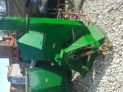 pto driven wood chipper  shreaded tractor 3 point linkage compact