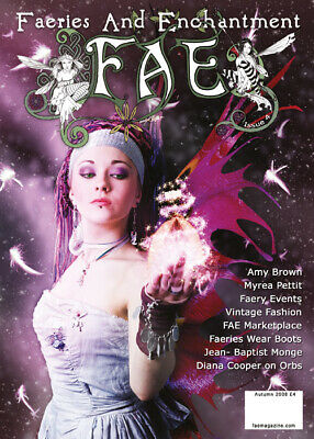 NEW Fae Magazine Faeries & Enchantment #4 Autumn 2008 Amy Brown Faerie Fairys